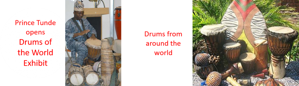 Drums of the World Exhibit